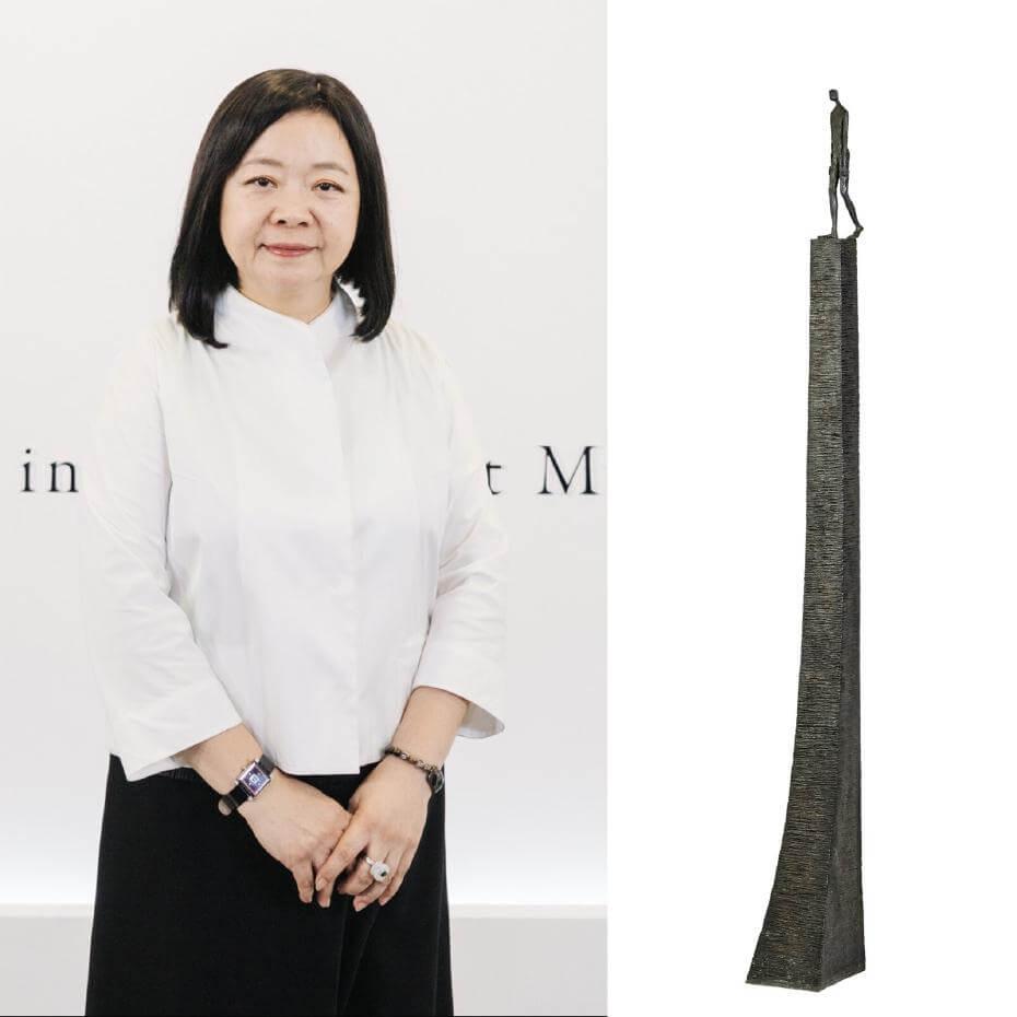 中華民國畫廊協會理事長鍾經新。圖/鍾經新提供