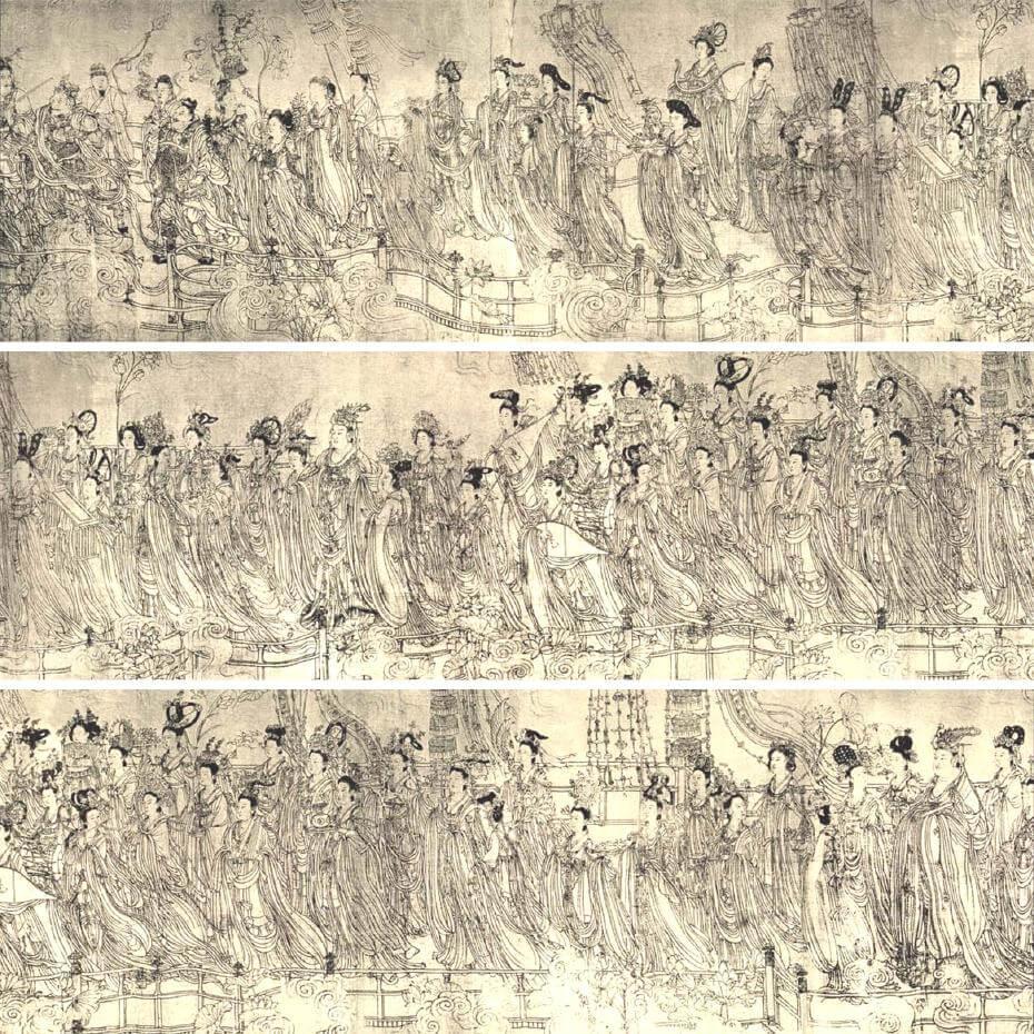 87神仙卷,吳道子作品