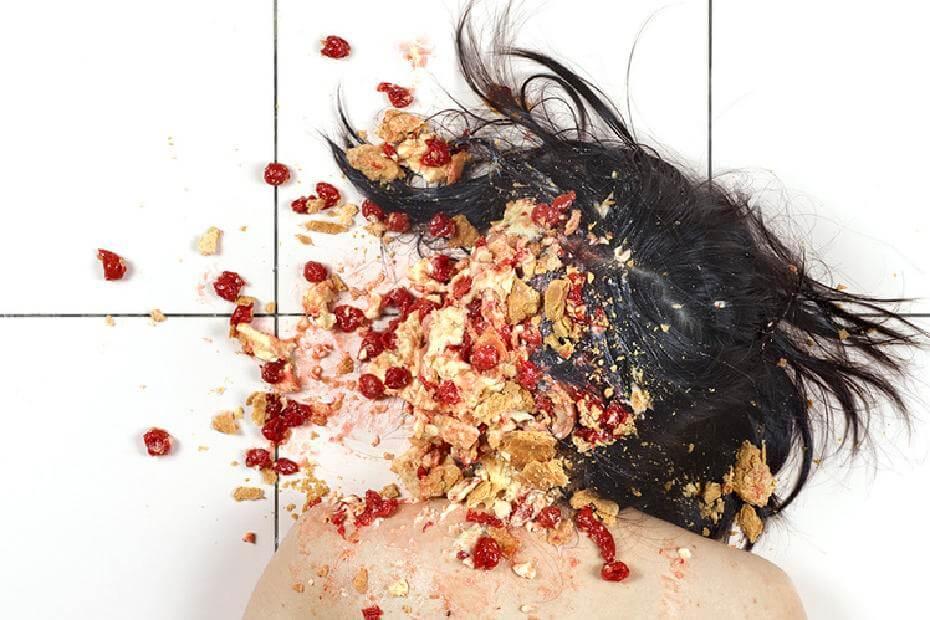 郭文泰,《食物戰爭》。圖/誠品畫廊提供。