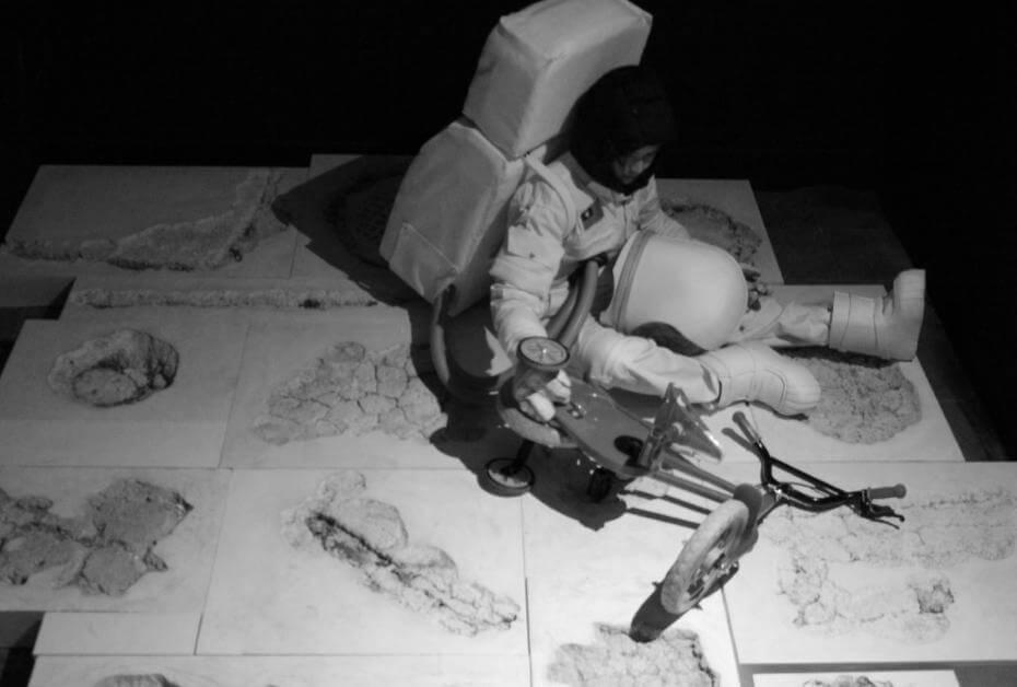 《闕漏好朋友:太空人之死》,攝影,2015。圖/詹詠幀提供。