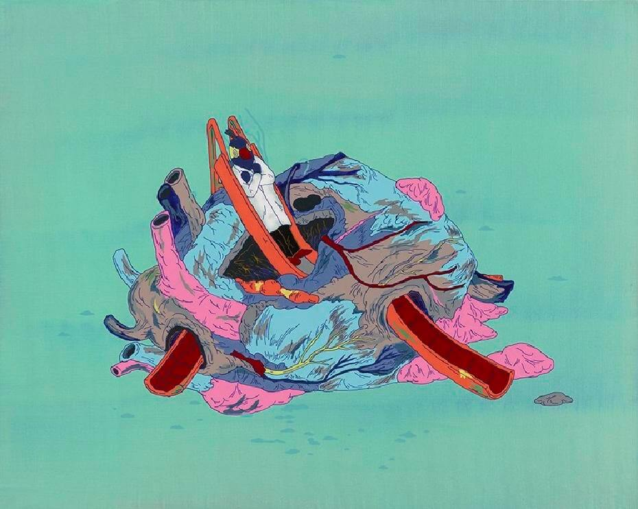 張騰遠作品--地球風遊樂器材