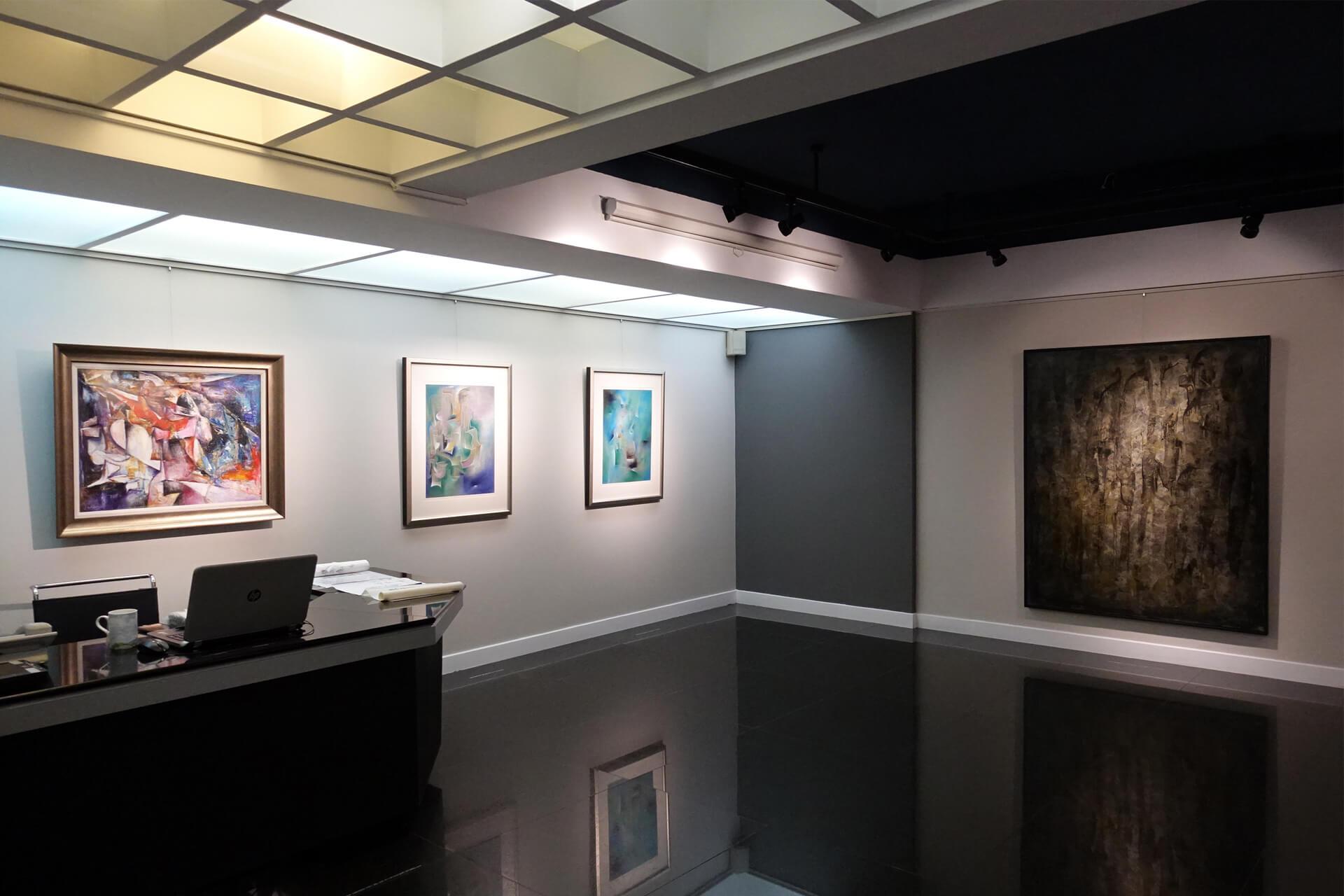 阿波羅畫廊:畫廊四十週年特展系列(三) 寫實意境x抽象表現 陳家榮.曾仕猷.戴壁吟.葉竹盛